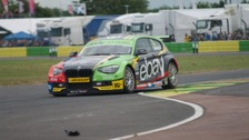 Last year's overall champion, Colin Turkington, in action in 2014