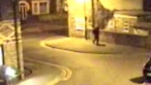 This CCTV image was recorded at 7.15pm at Heworth Place, York.