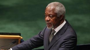 special envoy Kofi Annan
