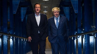 David Cameron name-checks Boris Johnson as a possible future Tory leader