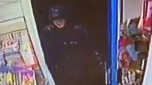 A CCTV image of the second suspect.