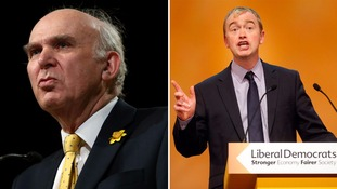 Vince Cable: Tim Farron would not be a 'credible leader' of the Lib Dems