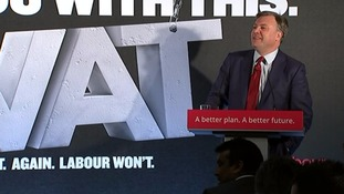 Ed Balls: Tories need VAT hike to make sums add up.