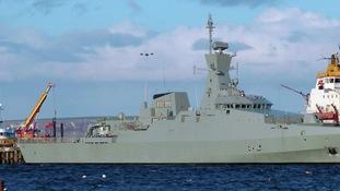 Al Shamikh warship