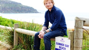 Singer Ed Sheeran makes cameo appearance in Home And Away.