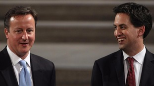 David Cameron and Ed Miliband are due to take part in one of last PMQs before the General Election