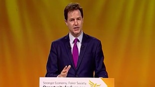 'Too hot? Lib Dems!': Uptown Clegg unveils 'unofficial election anthem'
