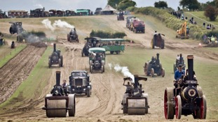 A network of roads will be built for the Great Dorset Steam Fair to stop bad weather disrupting the event