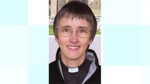 Revd Canon Alison White.