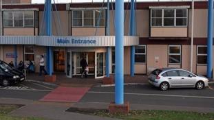 Hinchingbrooke Hospital in Huntingdon.