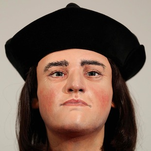 Model of the face of King Richard III