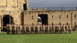 Photo gallery: Catterick Garrison conduct final Afghan medal parade
