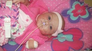Baby Lillie Mai.