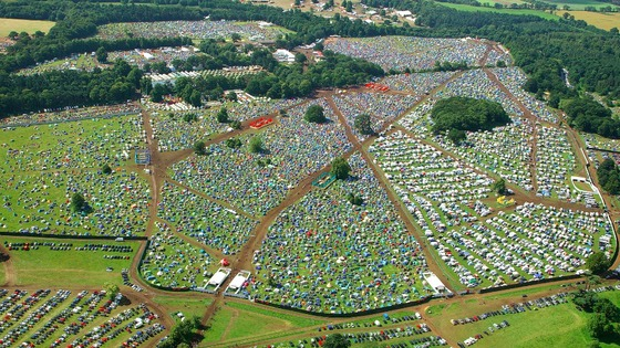 Latitude from the air