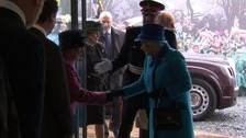 The Queen officially opened a centre dedicated to the Battle of Britain