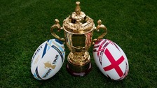 The Webb Ellis Trophy will be touring the region in August.