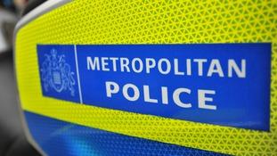 Metropolitan Police motorcycle