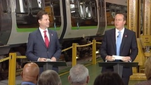 Nick Clegg MP and Prime Minister David Cameron
