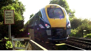 A Midland Mainline  train headIing towards Nottingham