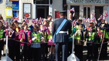 Hundreds of people are supporting the parade in Bedale