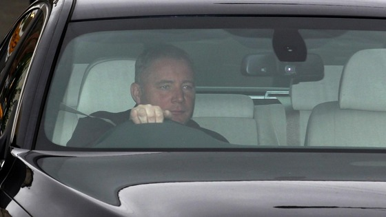 Ally McCoist arriving at Hampden park earlier today.