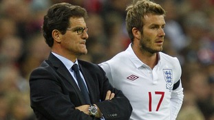Fabio Capello during his time as England boss