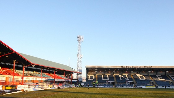 Dundee play their home games at Dens Park