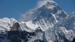 The north face of Everest