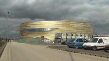 The £28m arena opened earlier this month