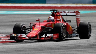 Vettel ends Ferrari wait for Formula One win in Malaysia