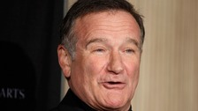 The late actor Robin Williams