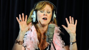 Carol Decker, the lead singer of T'Pau in 2010