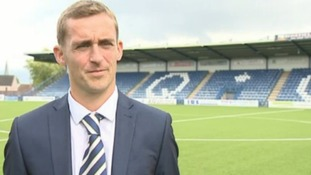 James Fowler will stay with Queen of the South until the end of the season
