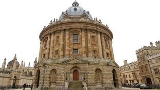 View of the Radcliffe Camera, Oxford University