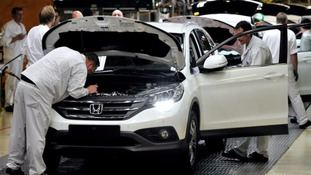 Honda employs over 3,000 people in Swindon