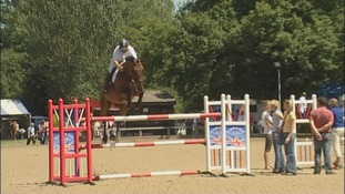 Hickstead, horses, showjumping