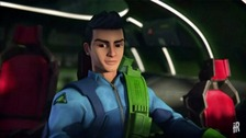 Virgil Tracy as he appears in the new series Thunderbirds Are Go