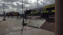 Humber Bridge lorry