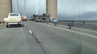 Humber Bridge van