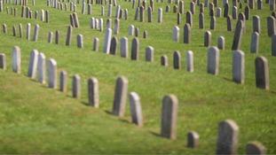 A US cemetery