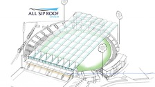 Headingley Stadium will soon be fitted with a retractable roof, according to plans unveiled today.