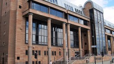 Newcastle Crown Court heard that the 19-year-old sustained injuries breaking into the property.