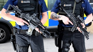 Armed patrols are taking place around Salford
