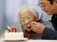Misao Okawa celebrated her 117th birthday on March 5th.