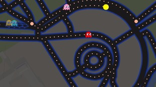 Google turns every street in Britain into a giant game of Pac-Man