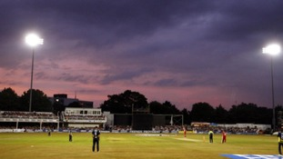 The County Ground in Chelmsford.