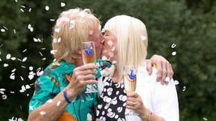 The couple celebrated scooping their first £1 million in July 2013.