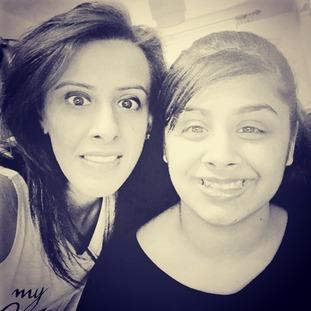 Pam and Aaisha