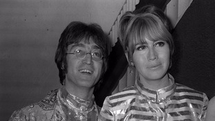Cynthia with John Lennon