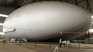 The Airlander 10.